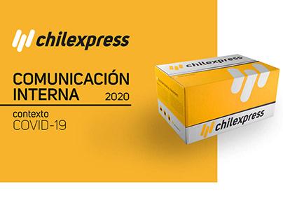 CHILEXPRESS comunicación interna 2020 COVID-19