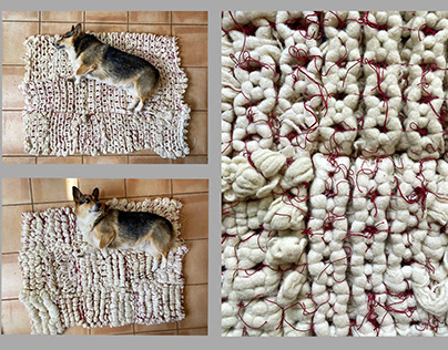 2616 knot dog bed