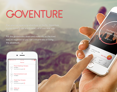 GoVenture - App (Micro-Interaction added)