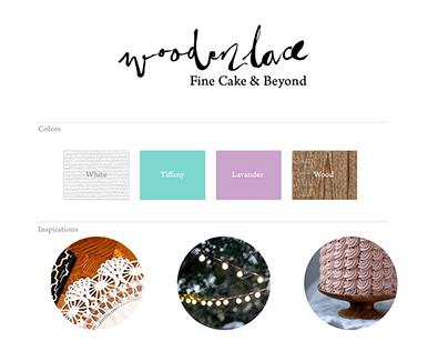 Wooden Lace Logo design- 2014