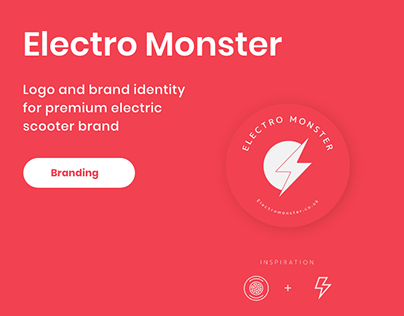 Electro Monster Logo Design