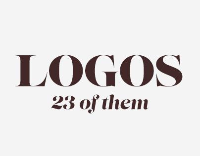 Logos – 23 of them