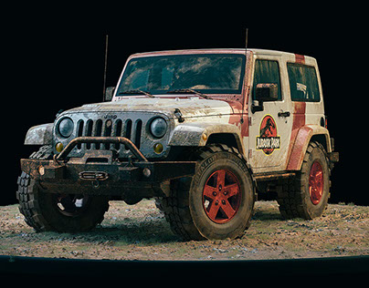 Jurassic Jeep