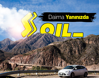S oil Petrol İstasyon Sosyal Medya Tasarımı