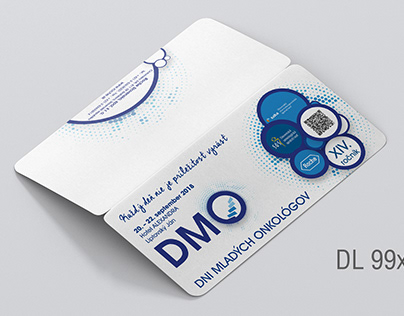 Design of invitation for cancer society.