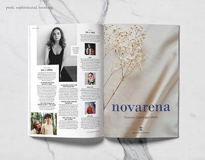 Novarena Brand Identity