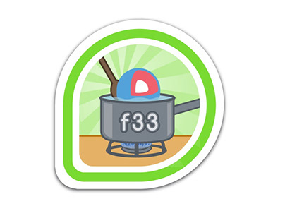 Badge for F33 Fedora CoreOS Test Day Participation