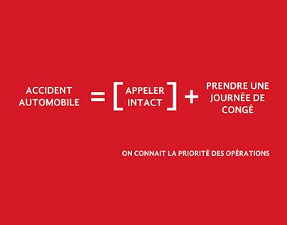 Intact Assurance | Priorité des opérations