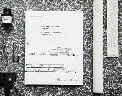 Architektin Adelheid Gnaiger Buchgestaltung