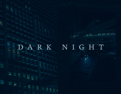 DARK NIGHT IN PARIS