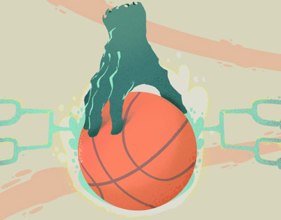 Sports Ball Hand
