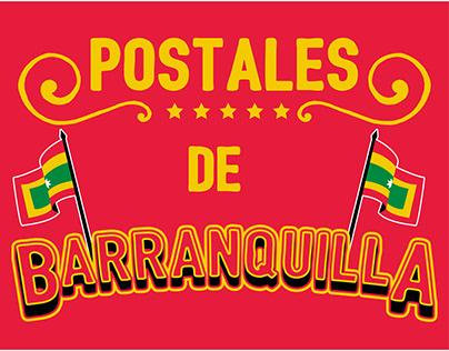 Postales de Barranquilla