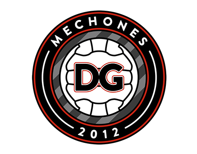 C.F. MECHONES 2012 BADGE & SHIRT