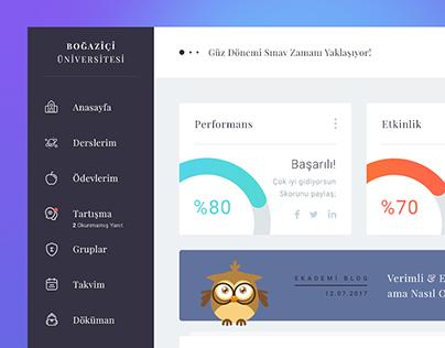 Ekademi // LMS Dashboard, App