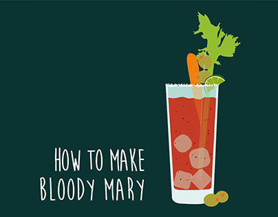 Infographic   How to Make Bloody Mary