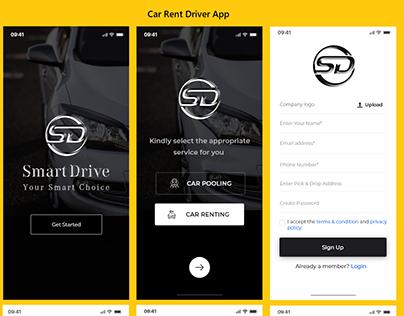 Smart Drive - Car Rental and Car Pooling Application