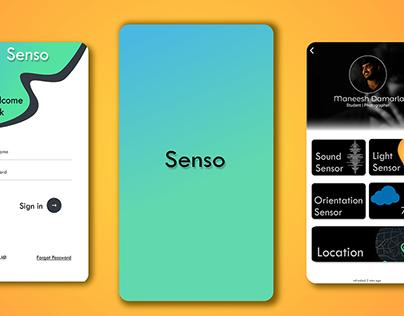 Senso - UI Design