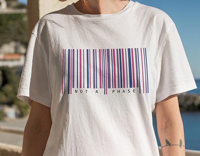 Bisexual Barcode - Shirt Design