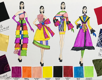 Mini Collection inspired by Christian Lacroix