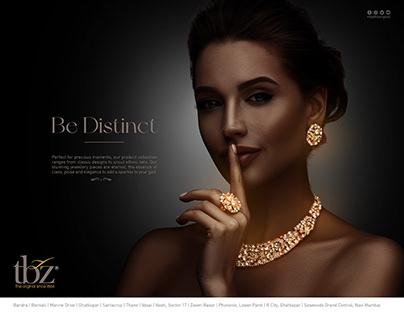 TBZ Jewellery Print Advertisement