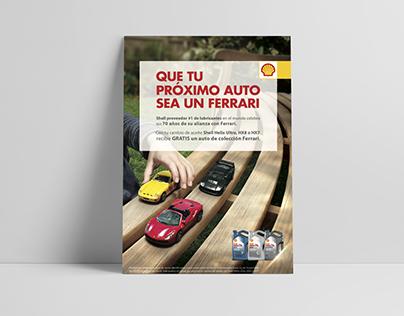 Poster publicitario Shell