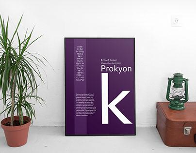 Type Specimen - Prokyon