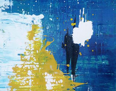 #001 - Peinture à l'acrylique