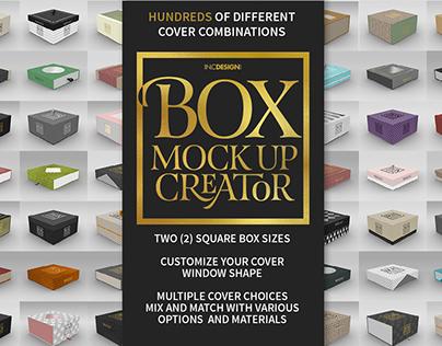Square Box MockUp Creator with FREE Lite Version