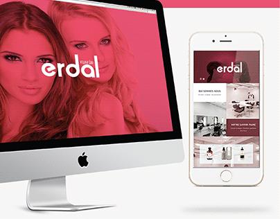 Erdal Hair Saloon - Brand Identity