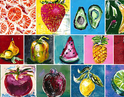 Paintings/Fruits