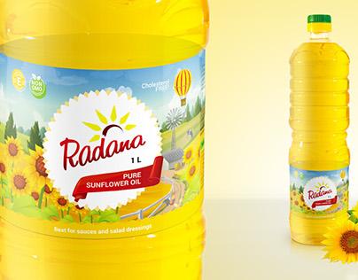 ТМ Radana разработка дизайна этикетки
