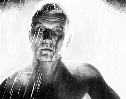 Tryptic Blade Runner