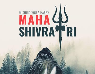 Free wallpaper graphics for wishing mahashivratri.