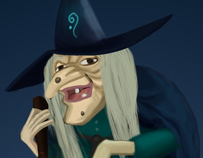 Cadı (Witch) Concept Art
