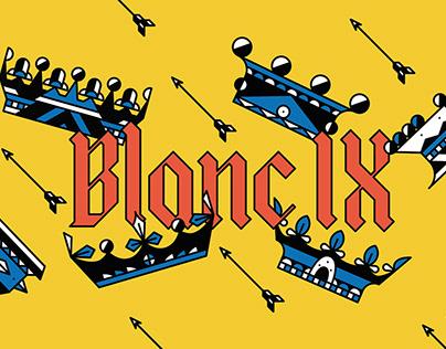 Blanc IX