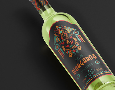 Label Design for Tequila-based Margarita