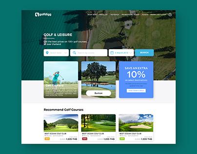 Golf Booking Website