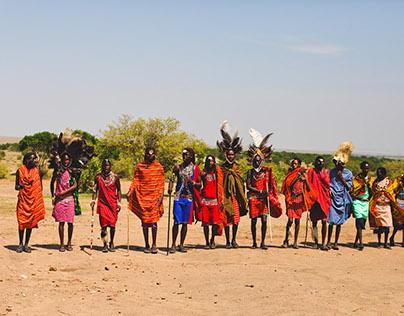 Masai Village, Masai Mara, Kenya
