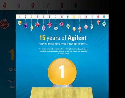 15 years of Agilent