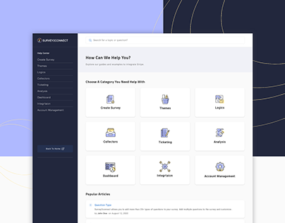 UI UX Help Manual, Support, FAQs & Knowledge Base