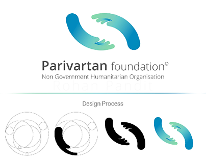 Parivartan foundation Brand identity.