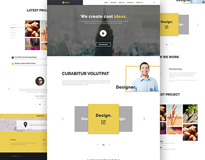 Create Agency Web Template