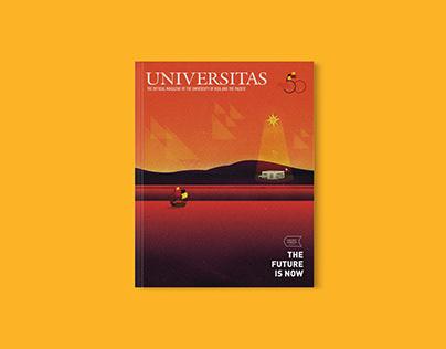 Universitas (October 2018)   Editorial Design