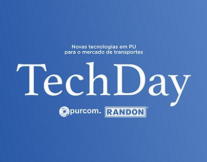 Identidade visual para TechDay | FMG