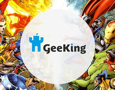 Geeking - Brand identity
