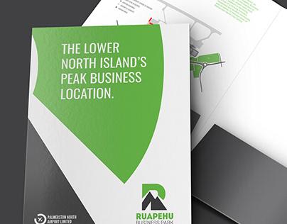 Ruapehu Business Park Identity Design