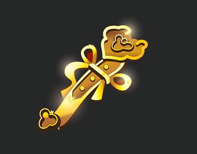 Vector Slot Game - God of Wealth