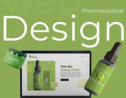 Web design Pharmaceutical Manufacturing Company
