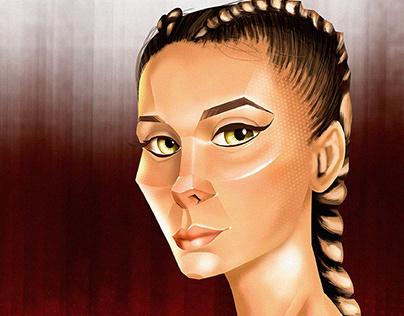 Illustrated Portraits - VOL. 1