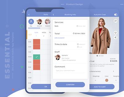 Essential - Mobile App Template